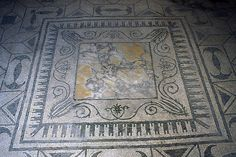 Mosaic With Opus Sectile Centre, Herculaneum