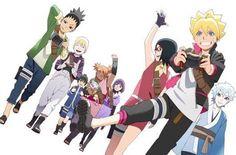 Resultado de imagem para boruto ボルト naruto next generations Naruto Uzumaki Shippuden, Naruto Minato, Anime Naruto, Kurama Susanoo, Sarada Uchiha Tumblr, Yamanaka Inojin, Team Minato, Naruto Team 7, Shikadai