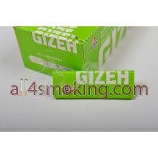 Cod produs: Foite Gizeh (v.d.) Disponibilitate: În Stoc Preţ: 0,95RON  Foite Gizeh (verde deschis).Foitele sunt transparente.  Cantitate 50 foite SUPERFINE(12.0 g/m)  Cut corners.