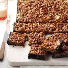 Not Your Mama's Seven-Layer Bars Recipe -The addition of dulce de leche makes this a decadent new take on traditional seven-layer bars. You can cut this recipe in half and make it in an 8x8-in. pan. —Andrea Barlow, Hot Springs, Arkansas