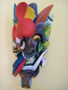 Macaw-eyed Combinado by Bernardo Gonzales Morales (photo by Judy Bell March 2010 525)