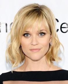 The Best Celebrity Bangs - Reese Witherspoon from #InStyle