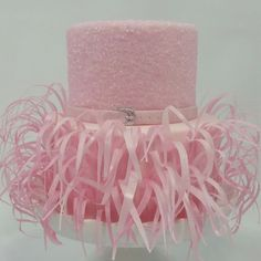 Pink Fondant Cake  on Cake Central