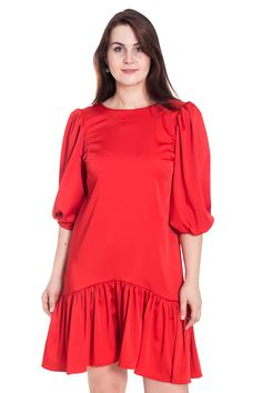 Трикотаж красно белое платье с рельефами