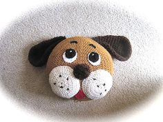 PATTERN Crochet Pillow Pattern Dog Pillow crochet puppy for nursery decor and baby bedding on Etsy, US$5.00