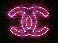 Chanel Neon Logo