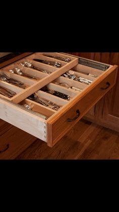 Kitchen storage for cutlery & utensils. EVERY kitchen should have at least 2 of these!