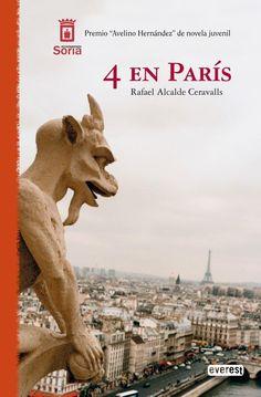 4 en París - Rafael Alcalde Ceravalls - Las peripecias de los protagonistas, que descubren poseer unas capacidades muy especiales, les llevarán a recorrer la ciudad hasta resolver el rapto en un final inesperado.