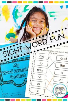 Do you need a way to add more practice for your students to work with sight words? We all know that most students need tons of practice in order to learn these words automatically. This fun unscramble & match to the correct word will make working with sight words a bit more fun and will take a little more brain power to find and match the words. See if you might like it for your students! #frysightwords #first100sightwords #sightwordactivitiesfirst #sightwordactivitiesk