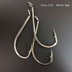 CN05 100pcs Pack 3/0 Stainless Steel Octopus Fishing Hook Big Fishing Hooks Musta Octopus Fishing Hook Free Shipping
