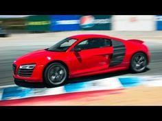 2014 Audi R8 V-10 Plus Hot Lap! - 2013 Best Driver\'s Car Contender