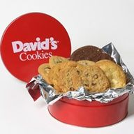Fresh Baked Cookies in a Tin | 1 lb Assorted - Davids Cookies