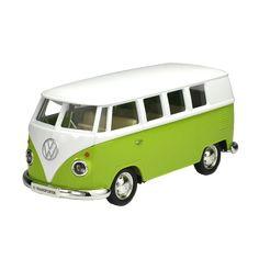 Exquisite Retro Volkswagen Van For Kids and Grown-Ups In Green, Red and Yellow Vans For Kids, T1 Bus, Retro Print, Wooden Cabins, Coupon Websites, Daily Deals, Motor Skills, Little Ones, Volkswagen