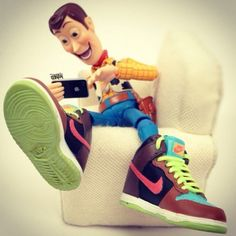Hipster Woody. I am obsessed with these Woody pictures :)
