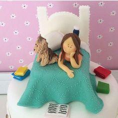 bolo festa do pijama