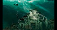 Submerged Shi cheng, underwater exploration of lost ancient Lion City. Some amazing photos here of the forgotten cities.