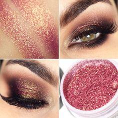 Pigmento HD Grace rosa dourado da Yes Cosmetics