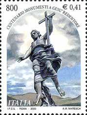 Italia francobollo 2000