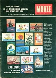 Znalezione obrazy dla zapytania czasopismo morze 1985