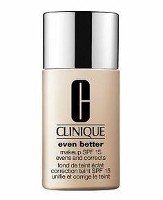 Clinique Even Better foundation - makes my skin look flawless, even where I have red patches