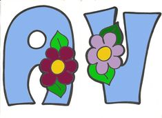 cosetes d'infantil: lletres de primavera 2