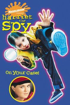 harriet the spy | Harriet The Spy Movie Poster, Harriet The Spy DVD Cover