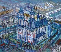 Edward Dwurnik - malarz All Art, City Photo, Contemporary Art, Scene, Artist, Artists, Modern Art, Contemporary Artwork