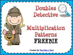 Help your students learn how to use patterns in multiplication to solve multiplication equations. This free activity encourages students to use the doubles strategy to solve larger equations using mental math.