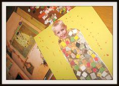 Relentlessly Fun, Deceptively Educational: A Klimt-Inspired Self Portrait