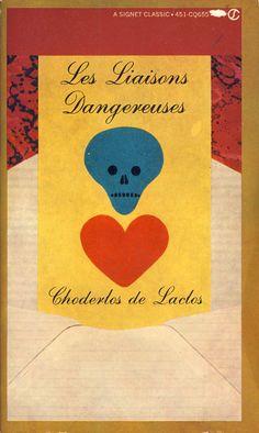 Great cover art. Les Liaisons Dangereuses