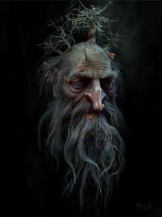 """Spirit of Nature"" - Similar to what happens to older, forest-aligned Tilwen...."