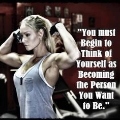 I like who I'm becoming. #fitfluential