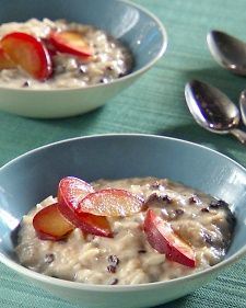 """This dense, creamy pudding is cooked with sweet spices and fruit. Enjoy it warm or cold, and top it with fruit for a simple dessert.    Adapted from the book """"Mad Hungry,"""" by Lucinda Scala Quinn (Artisan Books)."""