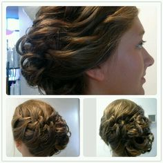 Perfect updo for the wedding