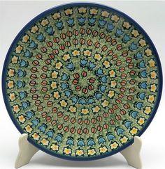 "Polish Pottery ~10"" Dinner Plate ~ Amsterdam"