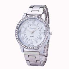 $0.92 (Buy here: https://alitems.com/g/1e8d114494ebda23ff8b16525dc3e8/?i=5&ulp=https%3A%2F%2Fwww.aliexpress.com%2Fitem%2FFetong-Hot-Marketing-2015-Women-s-Men-s-Crystal-Rhinestone-Stainless-Steel-Analog-Quartz-Wrist-Watch%2F32784181661.html ) Hot Unique Women's Men's Crystal Rhinestone Stainless Steel Analog Quartz Wrist Watch Drop Shipping F12 for just $0.92