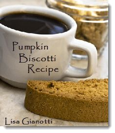 Pumpkin Biscotti.  Perfect for hostess gift, or an addition to the dessert table.