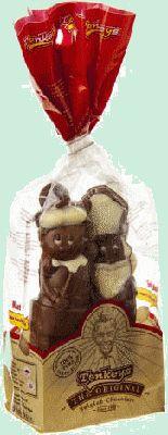 TONKEYS figurines chocolat au lait Belge décoré 145gr TONKEYS figurines en chocolat Belge au lait décoré. Sachet avec des figures creuses en chocolat au lait Belge avec décoration de couleur. Assortiment de Saint-Nicolas. www.chockies.net