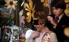 **Harold and Maude (1971)  Ruth Gordon, Bud Cort, Vivian Pickles - Director: Hal Ashby  - a wealthy young man obsessed with suicide meets a 79 year old who teaches him to enjoy life.