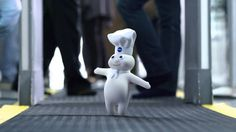 Pillsbury Doughboy on His Way to a Baking Convention - GEICO Commercial