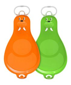 Loving this Orange & Green Large Walrooz Connectable Sled Set on #zulily! #zulilyfinds