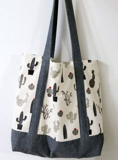 Eco friendly tote bag sewing tutorial