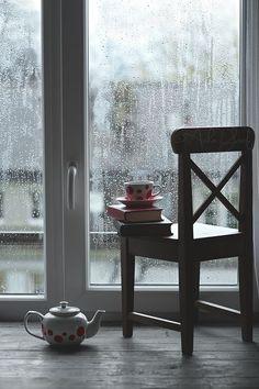 Books, Tea and Rainy Days by Aisha Yusaf