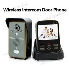 166.25$  Buy now - http://ali8pu.worldwells.pw/go.php?t=32554123690 - wireless Night Vision 2.4Ghz Video Door phone 1 outdoor unit+1 indoor monitor Free Shipping  166.25$
