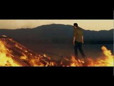 Blake Shelton - Over (Official Music Video)...well, after that spider anxiety, I am trying to occupy my mind with music that I like. This is a very dramatic video with all the flames and such, but cool scenery anyway, and I like the girl's dress. Pretty much just going to pin every song I like until I am calm for bed