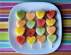 owocowe szaszłyki wydanie walentynkowe