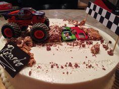 Monster Truck Cake DIY