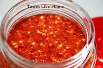 Hot Sauce Recipe - Hot Pepper Sauce Recipe - How to make Hot Pepper Sauce, Caribbean Style Prep Time: 15 minutes  Total Time: 15 minutes  Yield: 2 1/2 cups  Ingredients:  1 lb scotch bonnet peppers (washed and stems removed) 1 Tbsp salt White distilled vinegar or vegetable oil
