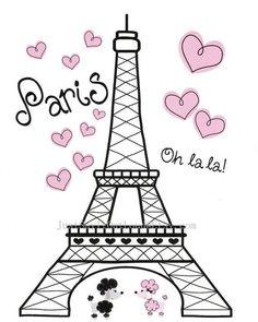 Paris Birthday Parties, Paris Party, Paris Theme, Paris Nursery, Girl Nursery, Nursery Art, Nursery Decor, Nursery Ideas, Room Decor