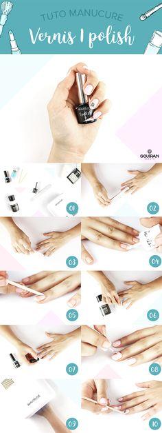 Tuto manucure nails nail art : Réaliser une manucure semi-permanent avec le 1 Polish